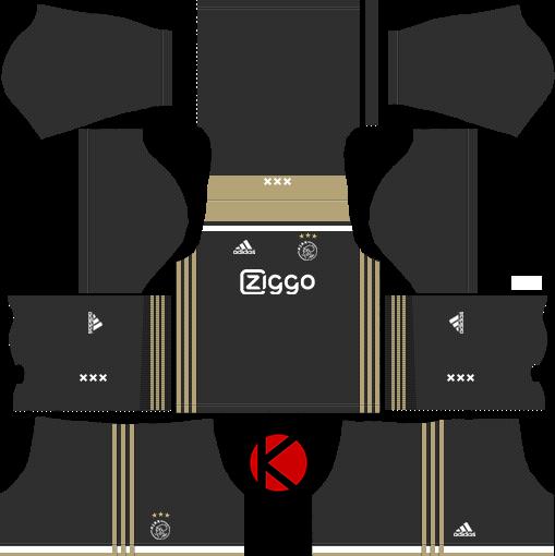 AFC Ajax 2018 19 Kit - Dream League Soccer Kits - Kuchalana 979deda6e