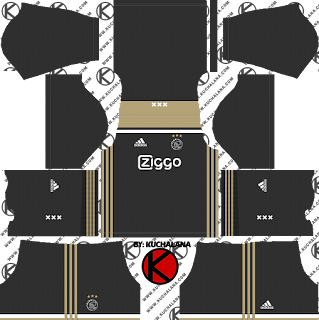 AFC Ajax 2018/19 Kit - Dream League Soccer Kits