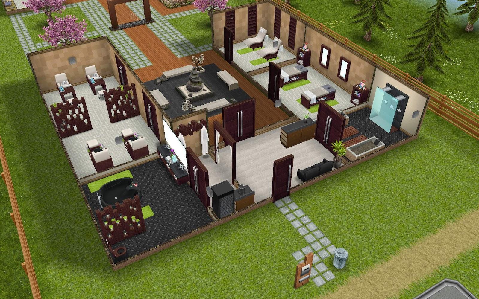 The sims freeplay it evento centro benessere della citt for Case the sims 3 arredate
