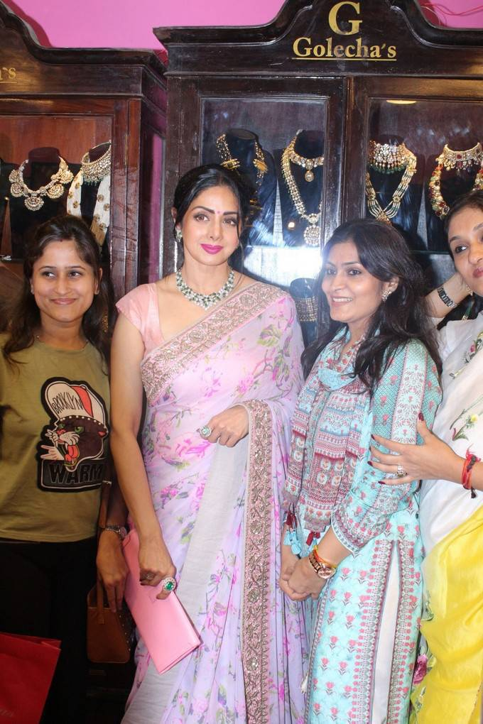 Sridevi at Women Entrepreneuers Exhibition at NSCI Dome