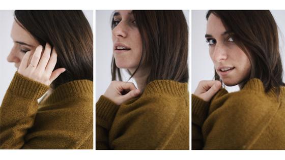Autoportrait tryptique Clementine blogueuse au café des fougères