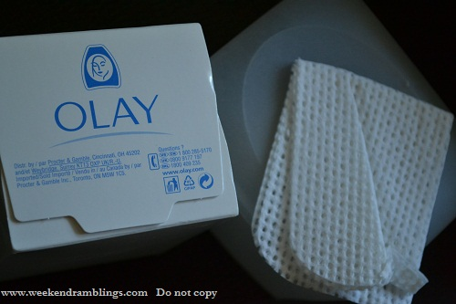 Olay Daily Facials 2-in-1 Cleansing Cloths