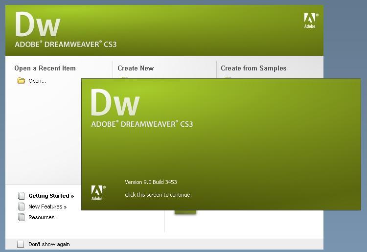 Adobe Dreamweaver CS3 + Keygen - Sharing For All