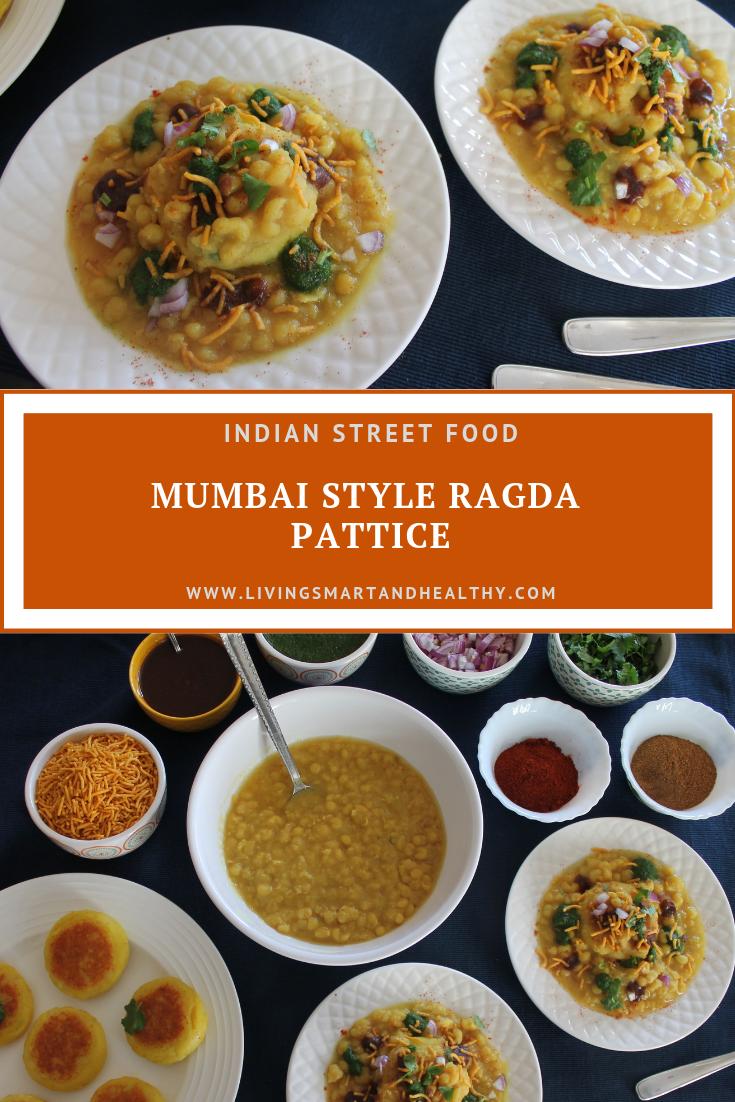 Mumbai Style Ragda Pattice - Instant Pot, Pressure Cooker