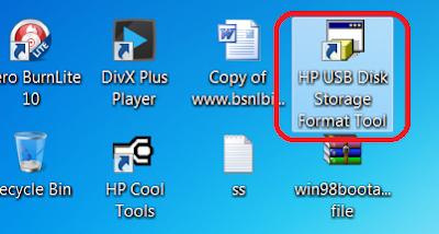Make MS-DOS Bootable Flash Drive