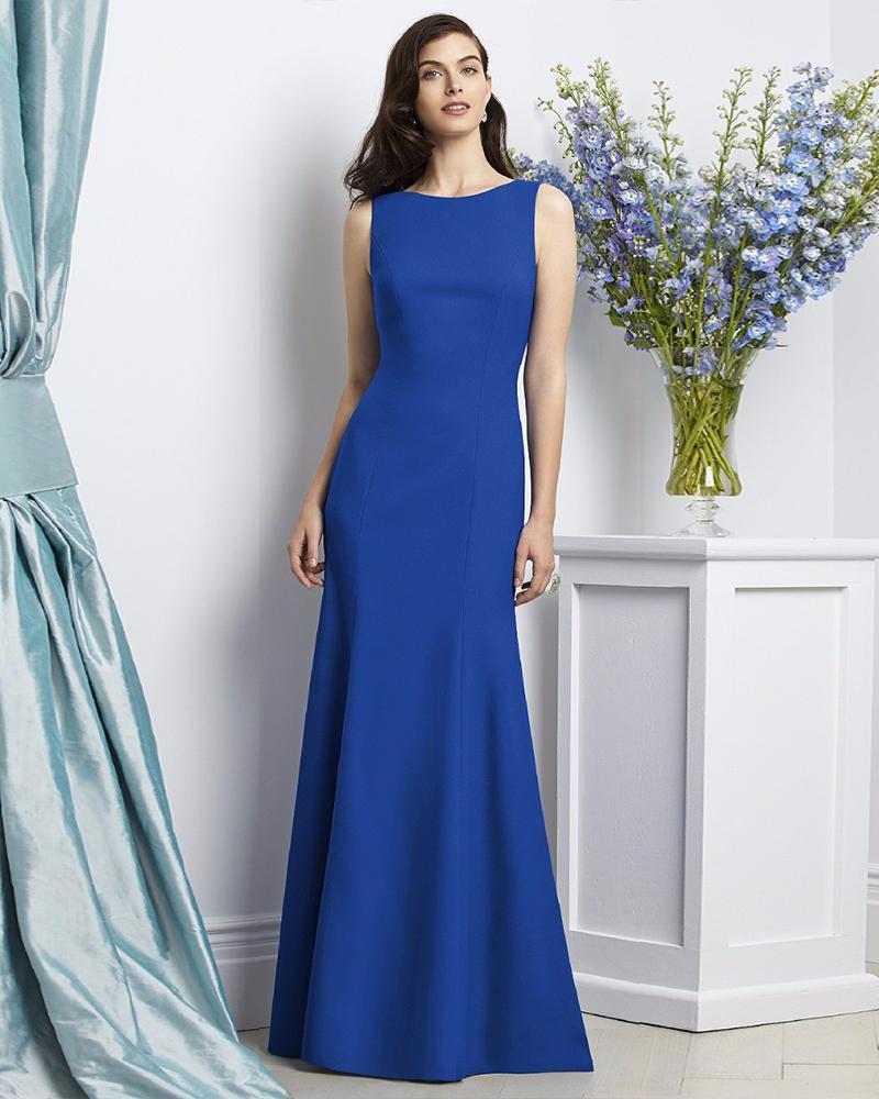 Vestidos de graduacion en azul rey