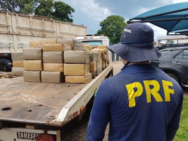 PRF triplica apreensão de drogas no Paraná