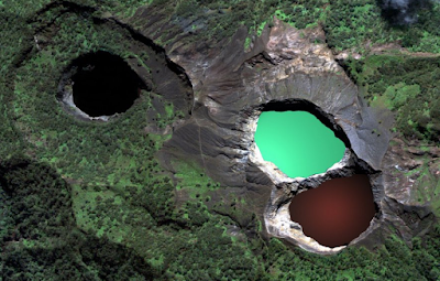 Mount Kelimutu Three Lakes