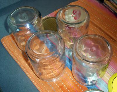 tarros esterilizados