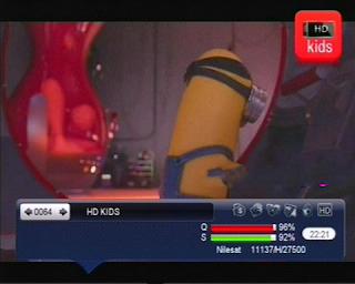 تردد قناة HD kids