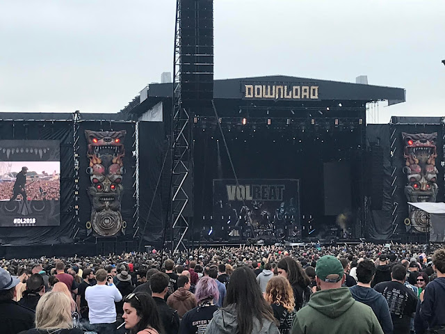 Volbeat at Download UK 2018