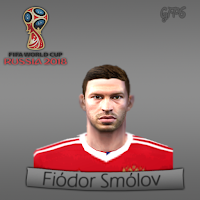 PES 6 Faces Fiódor Smólov by Gabo Facemaker