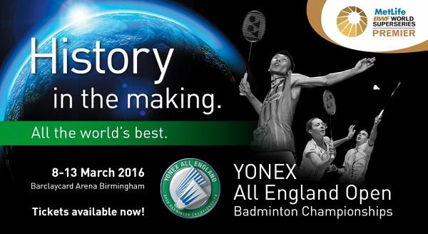 YONEX All England 2016