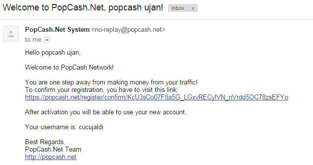 Cara Daftar dan Dapatkan Dollar Dari PopCash