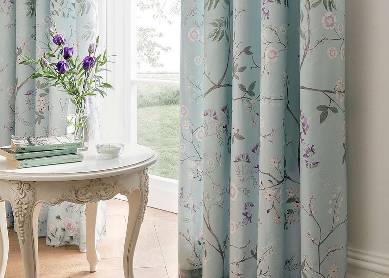coral and grey curtains dunelm