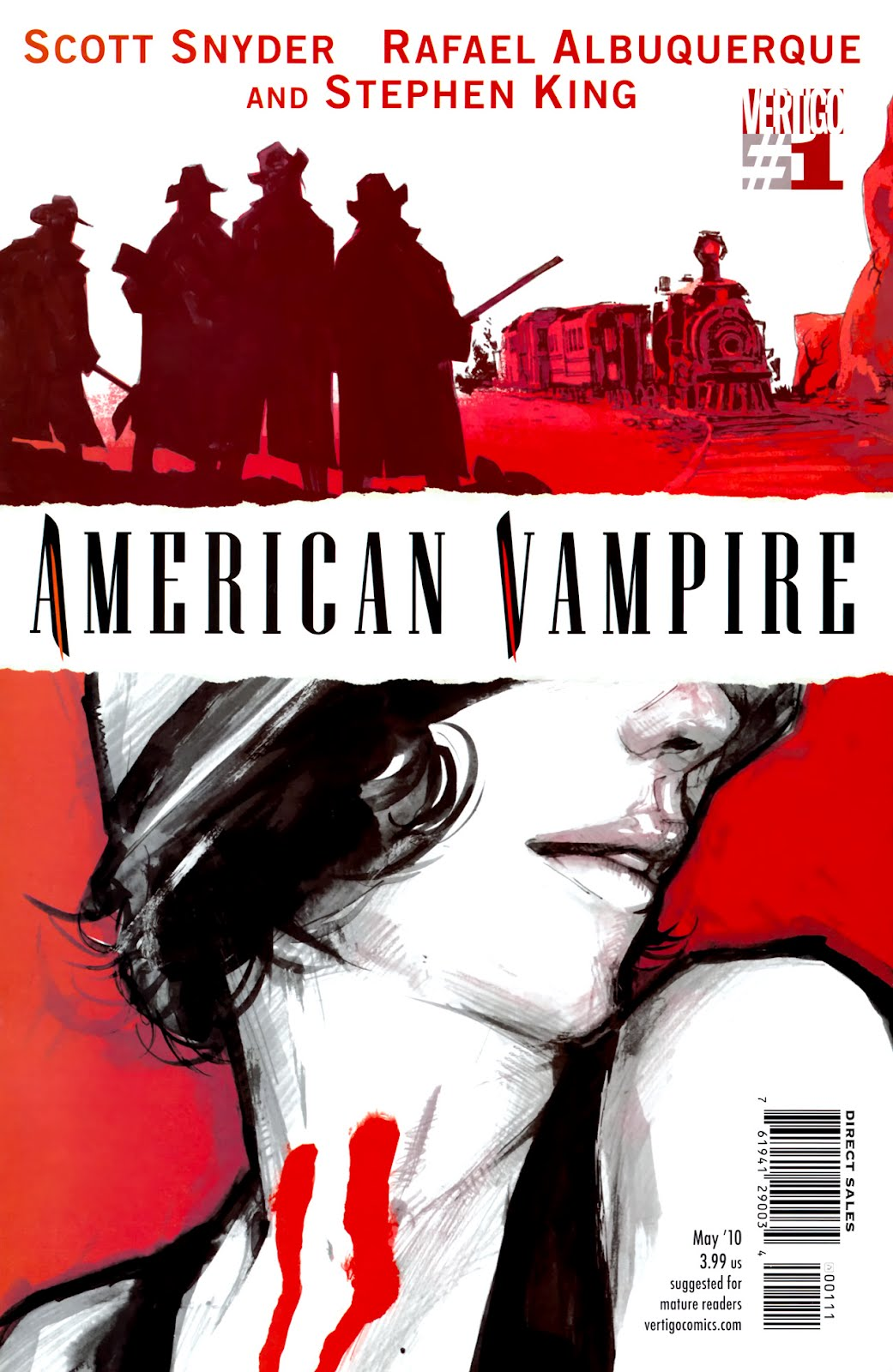 Vampiro Americano vol 1 Sangue Ruim - O silêncio dos carneiros