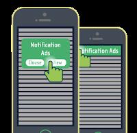 Monetización notificaciones web
