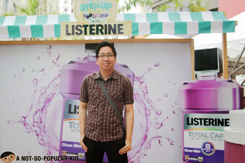 A Not-So-Popular Kid and Listerine