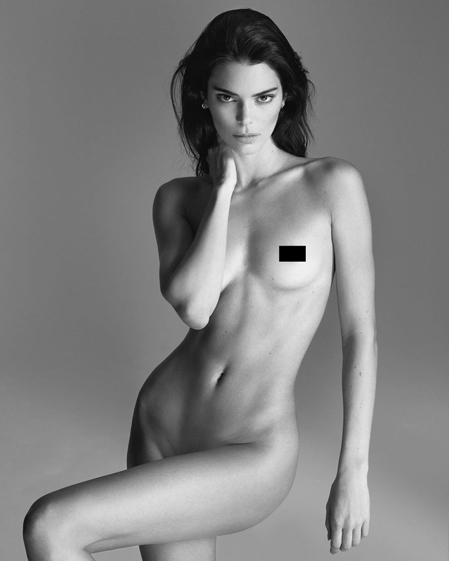 Kendall Jenner naked images nude pic