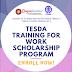 TESDA-TWSP Scholarship Program, BayanAcademy | Enroll Now!