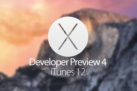 Download OS X Yosemite 10.10 Developer Preview 4 .DMG File via Direct Links