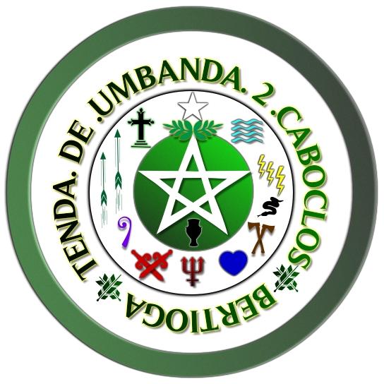 Tenda De Umbanda 2 Caboclos: Logo Official Da Tenda De
