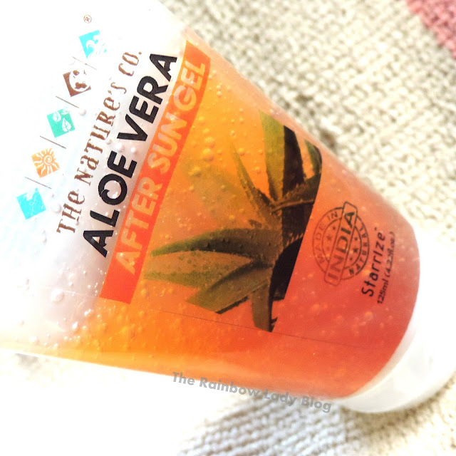 The Nature's Co Aloe Vera After Sun Gel Review