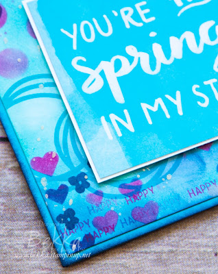 You're The Spring In My Step Home Decor Project made using Project Life by Stampin' Up! UK Cards