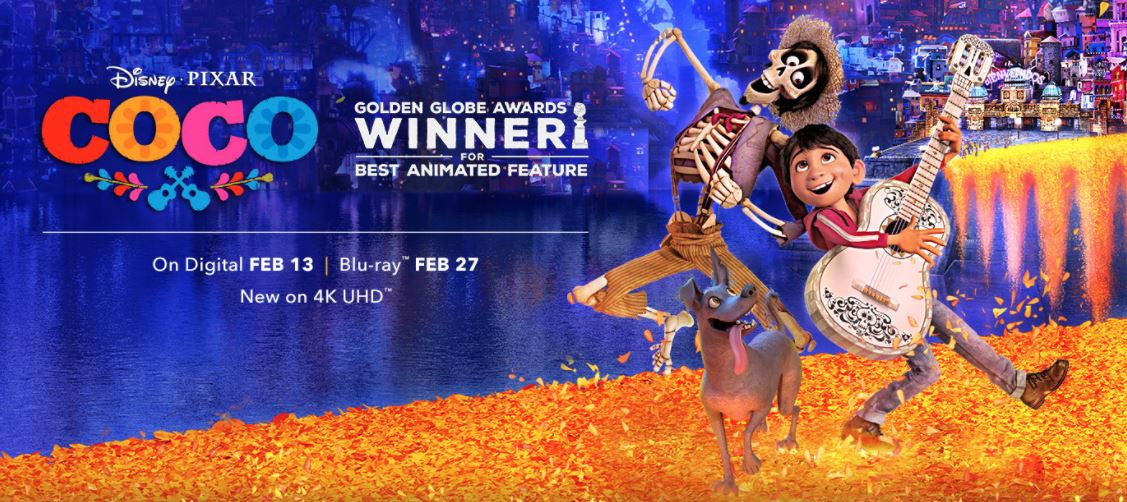 it s official coco 4k ultra hd blu ray and dvd to release on feb rh pixarpost com