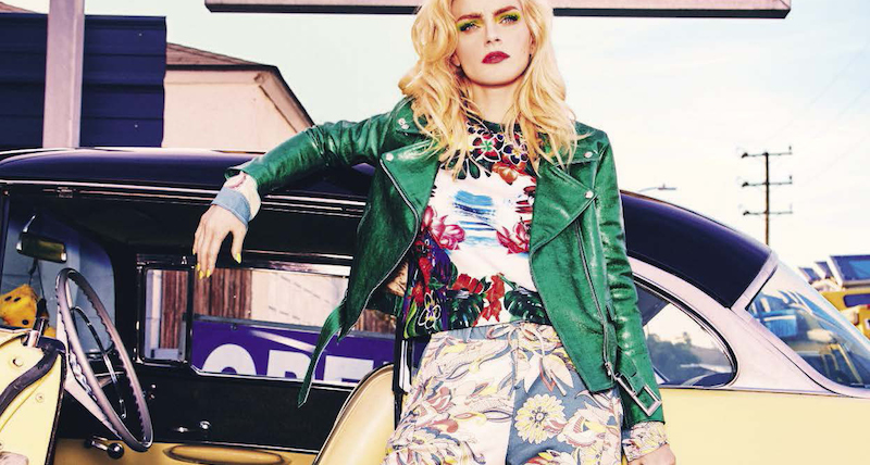 suggestions: jessica stam by ellen von unwerth for vogue italia march 2016
