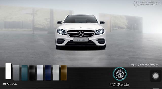Mercedes E300 AMG 2018 nhập khẩu