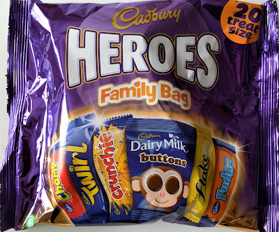 Cadbury Heroes family pack treat size