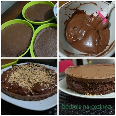 Bolo Mousse de Chocolate  Diet Low Carb passo a passo