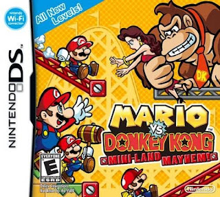 Mario vs. Donkey Kong: Mini-Land Mayhem, NDS, Español, Mega, Mediafire