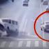 Video, Mobil Mobil Ini Terbalik Oleh Kekuatan Misterius