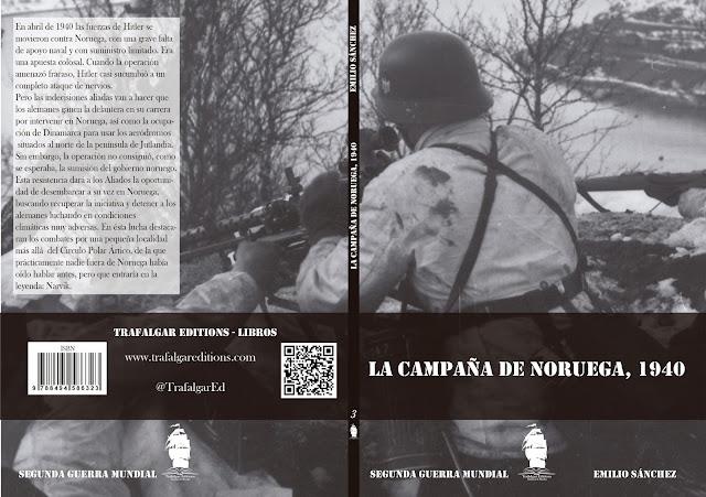 """""""LA CAMPAÑA DE NORUEGA"""". Libro BELLUMARTIS HISTORIA MILITAR"""