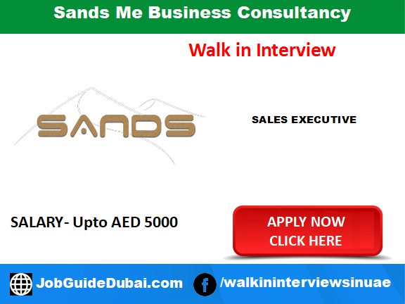 Job in Dubai for Sales Executive