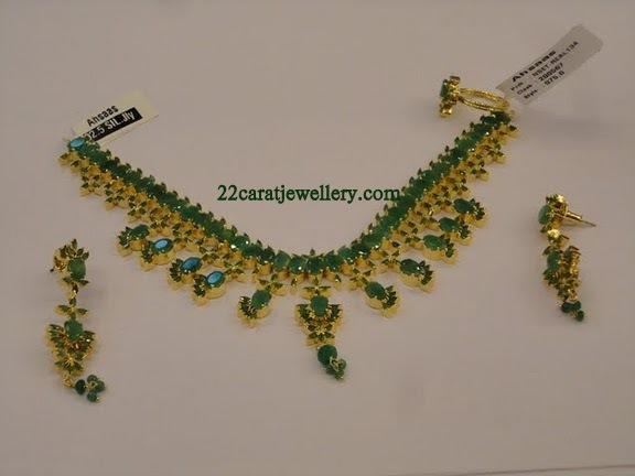 Ruby Emerald Imitation Jewellery 1 Gram Gold