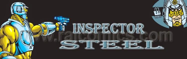 Inspector Steel Banner Raj Comics