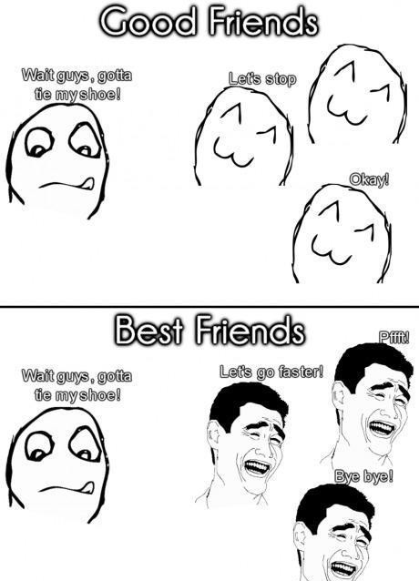 15 Funny Pictures That Illustrate The Basic Differences Between Friends And Best Friends