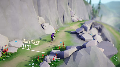 Lonely Mountains Downhill Game Screenshot 1