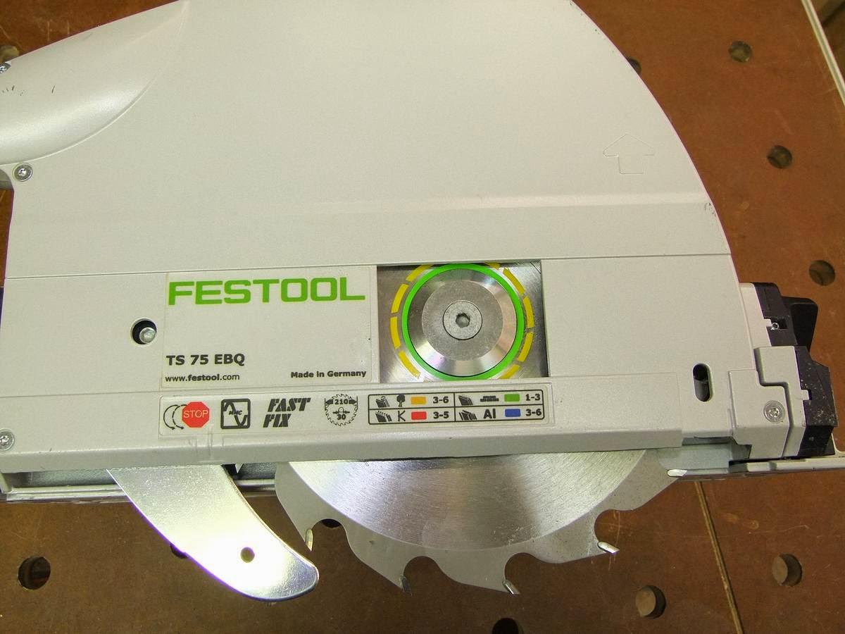 Michas Holzblog: Neuzugang in der Werkstatt: Festool TS 75 EBQ-Plus