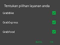 Cara Mengaktifkan Grab Express Dan Grab Food Dengan Mudah
