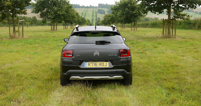 Citroen C4 Cactus Rip Curl rear view