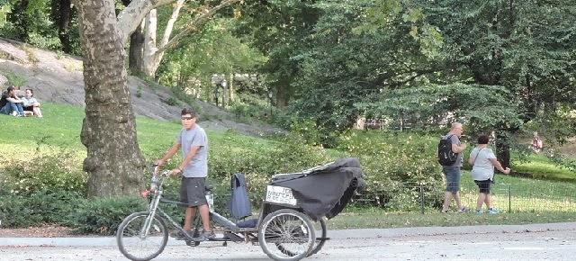 Pedicab Tour guide at Central Park by  ZERVE