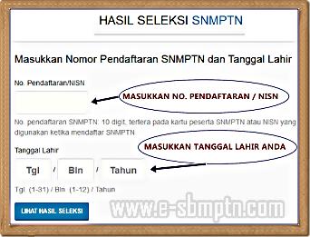 Cara Melihat Pengumuman Hasil Pemeringkatan Snmptn 2018/2019 | SOAL UTBK SBMPTN 2021 DAN ...
