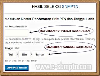 Pengumuman SNMPTN