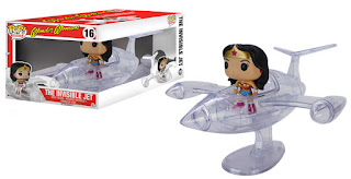 Funko Pop! Ride Wonder Woman's invisible jet