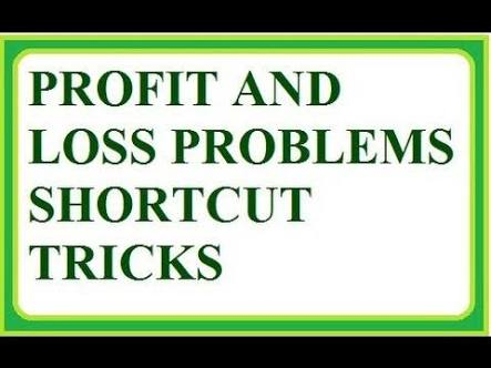 PROFIT AND LOSS CLASS NOTES WITH SOLUTION