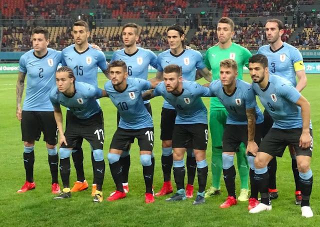 Uruguay a la final de la China Cup 2018